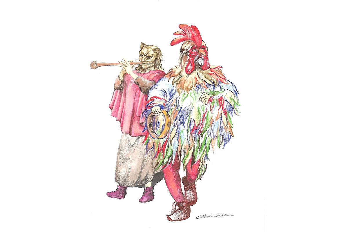 Coq-et-chat-musiciens